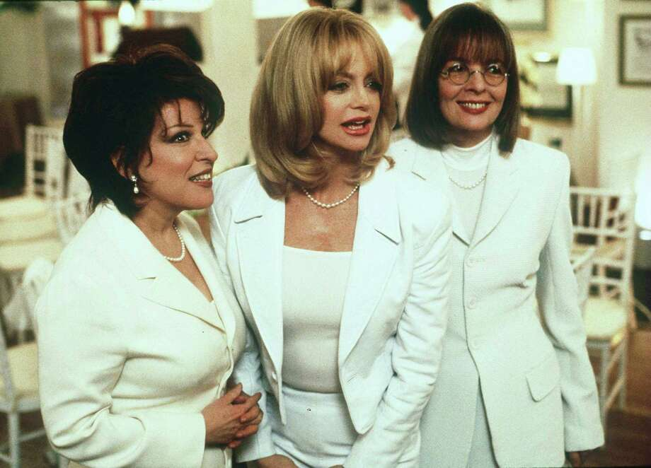 09/19. First Wives Club, Beete Midler, Goldie Hawn And Diane Keaton. (Photo By Getty Images) Photo: Getty Images / This content is subject to copyright.