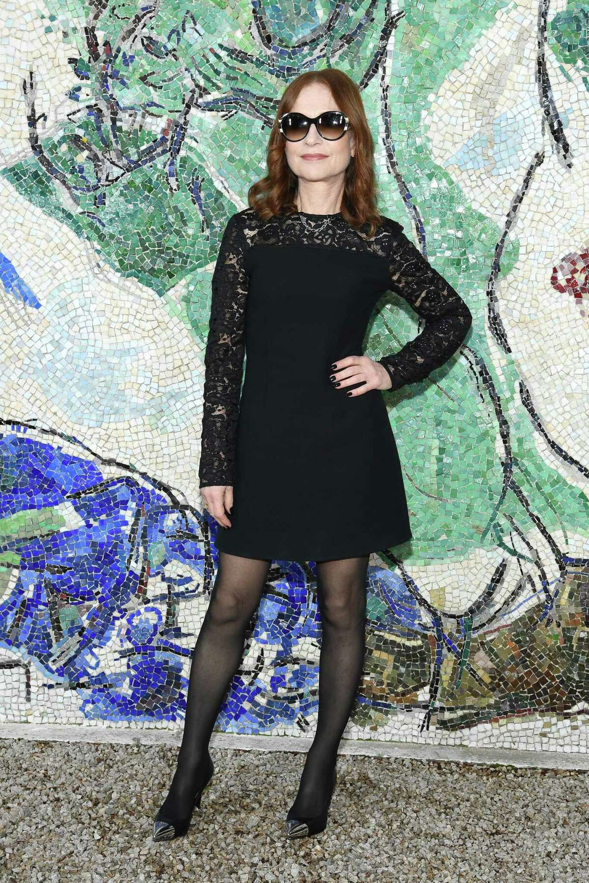 SAINT-PAUL-DE-VENCE, FRANCE - MAY 28: Isabelle Huppert attends Louis Vuitton 2019 Cruise Collection at Fondation Maeght on May 28, 2018 in Saint-Paul-De-Vence, France. (Photo by Pascal Le Segretain/Getty Images for Louis Vuitton)