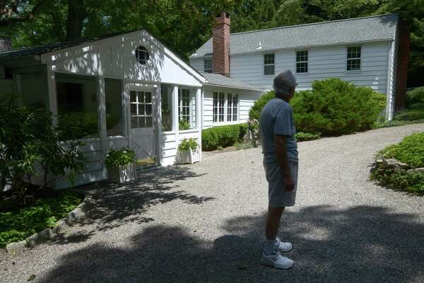 "A French country home named ?""Ransacket,?"" old Norse for ?""to seek a house,?"" Tuesday, July 31, 2018, at 6 Topping Lane in Norwalk, Conn. Built in 1930, Ransacket was only home to one couple before Joe Chila and Mary Jane Meehan, the current owners and is on the market listed for $649,000."