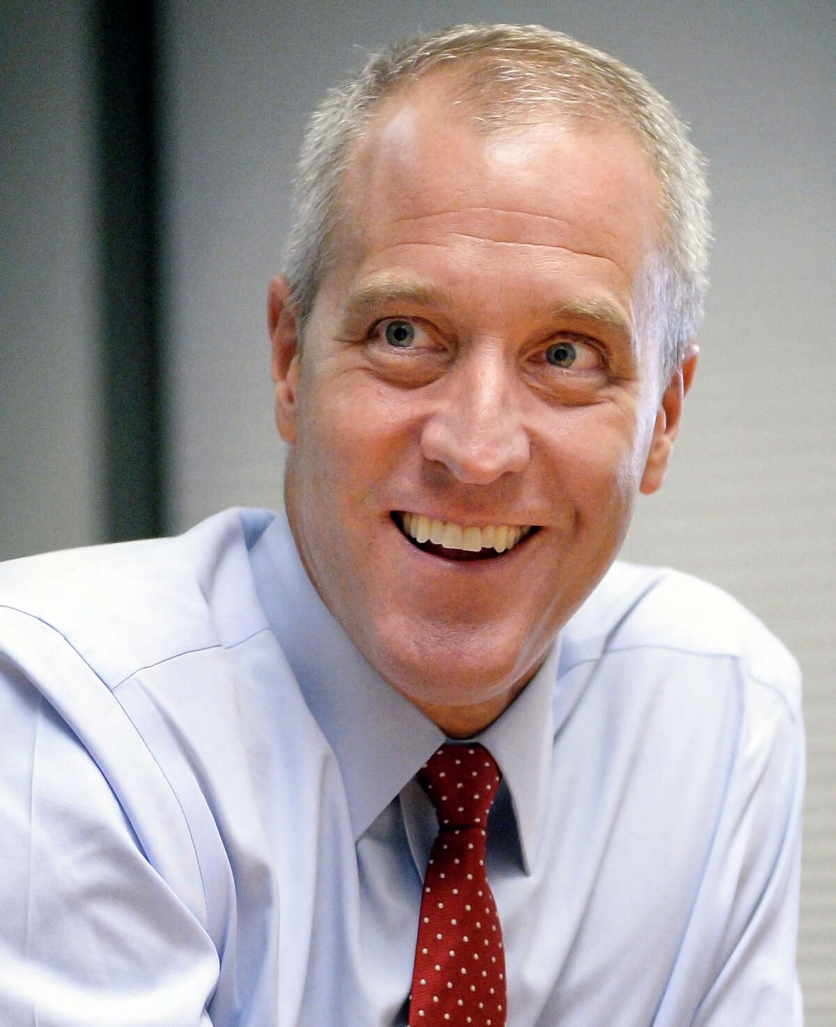 Democratic candidate for New York attorney general, U.S. Rep. Sean Patrick Maloney meets with the Times Union editorial board Thursday August 16, 2018 in Colonie, NY. (John Carl D'Annibale/Times Union)