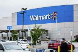 A Walmart store in Secaucus, New Jersey, on May 16, 2018.