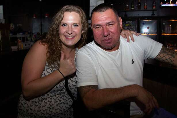 Heather S. and Juve Garcia are at Retox Bar.