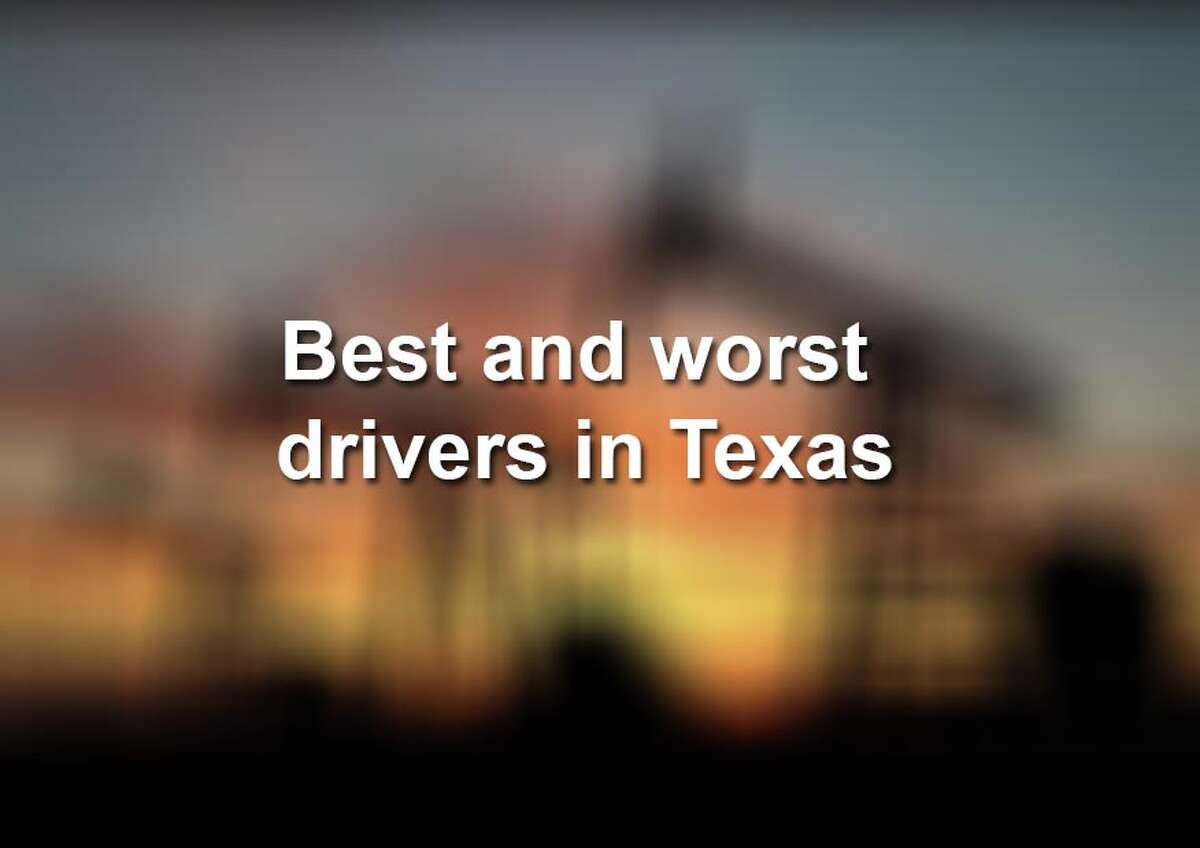 Click ahead to view which Texas areas are home to the worst drivers, ranked from best to worst, according to Quote Wizard, an insurance comparison company. Quote Wizard polled its audience for data, including total accidents, speeding tickets, DUI charges and citations, to determine the ranking.