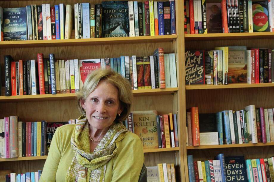 Sheila Daley, owner of the Barrett Bookstore. Photo: /provided By Lynandro Simmons /Hearst Media