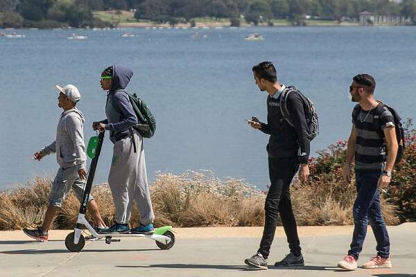 Scooter wars: SF may penalize Lyft, Uber for ride-hail