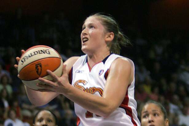 Former Connecticut Sun guard Lindsay Whalen, who is retiring at the end of this season, won six playoff series in her six seasons with the Sun.