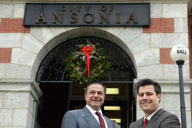 Ansonia Mayor David Cassetti and Corporation Counsel John P. Marini believe changing the charter to allow minority representation on the Board of Aldermen.