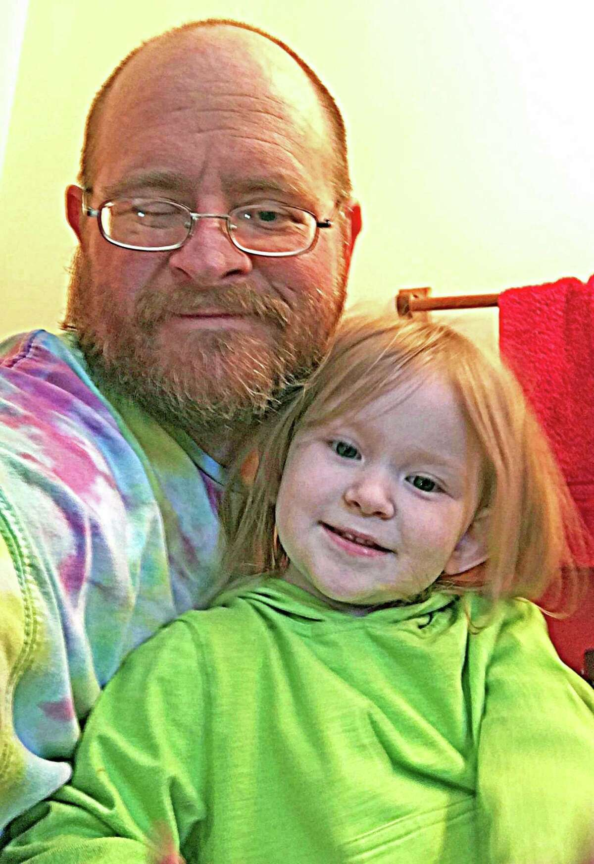 Alan Doughtery and his 3-year-old daughter McCartney live in Meriden. He has polycystic kidney disease and needs a kidney transplant. He was just recently approved for the Hartford Hospital donor list and undergoes dialysis every evening because his kidneys only function at 3 percent.