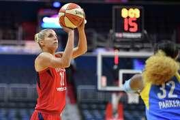 Mystics leading scorer Elena Delle Donne is averaging 23.5 points per game since the all-star break.