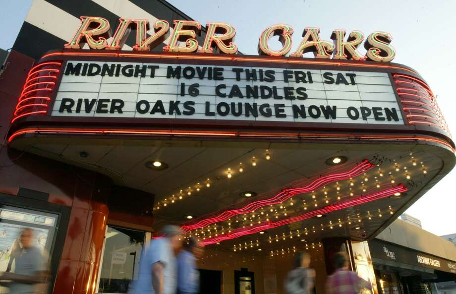 Landmark Theatre in River Oaks is reopening to the public Wednesday. Photo: Jessica Kourkounis,  Freelance / For The Chronicle / Freelance