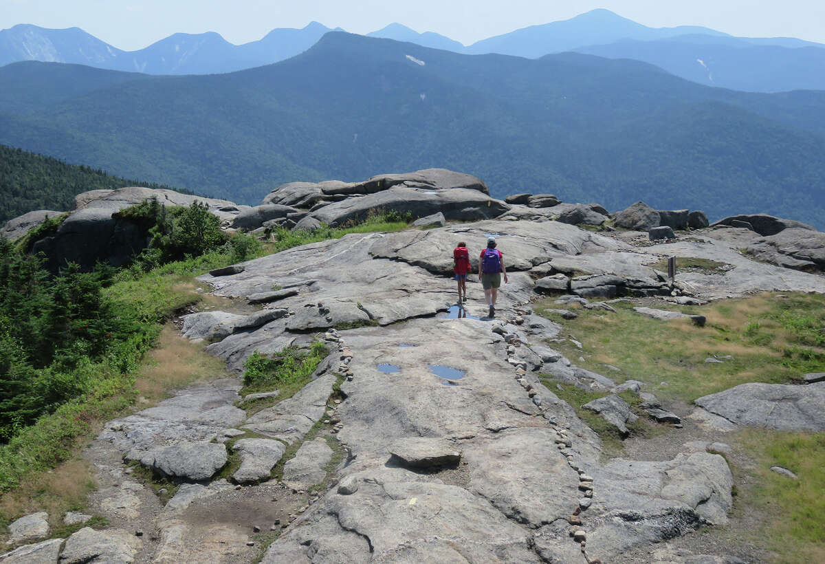The view from Cascade Mountain in the Adirondack High Peaks.(Herb Terns/Times Union)
