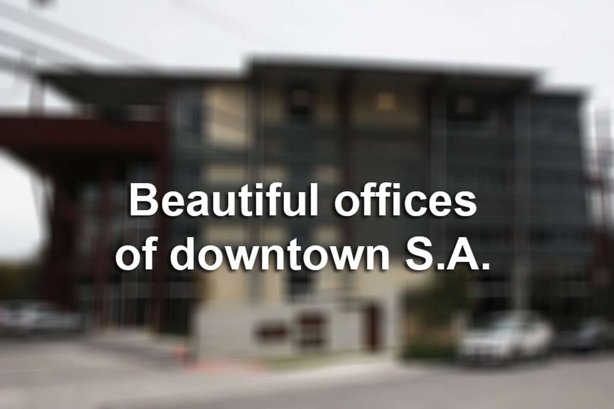 Downtown building boasts beautiful office space.