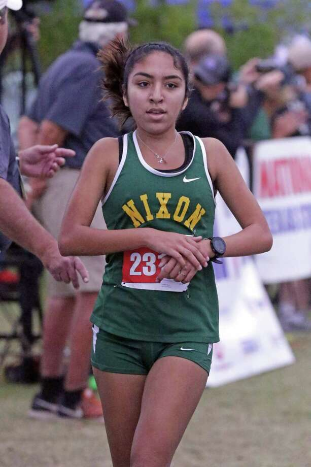 Martin's Samantha Gonzalez, United's Alex Munoz and Nixon's Alexa Rodriguez lead a contingency of Laredo runners that will compete on Monday at the Region IV Cross Country Championships looking for a state berth. Gonzalez and Rodriguez were the city's two representatives a year ago while Munoz nearly joined them. Photo: Clara Sandoval / Laredo Morning Times File