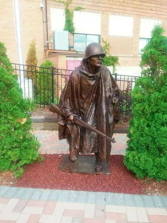 The Freedom Park's newest additionis aKorean War statue. (Photo provided)