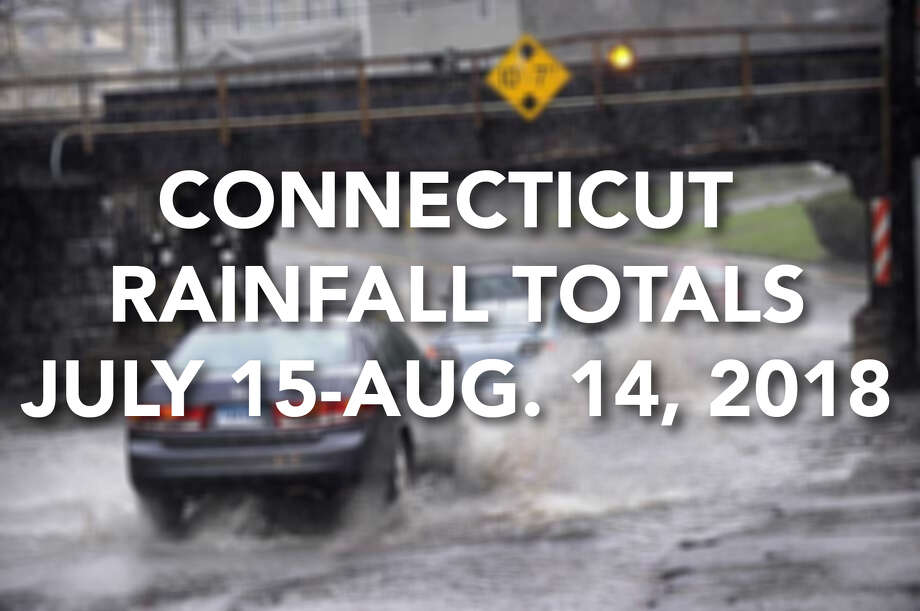 The Connecticut Community Collaborative Rain, Hail, & Snow Network shows how much rain we received over about a four week period during the summer of 2018. Photo: .