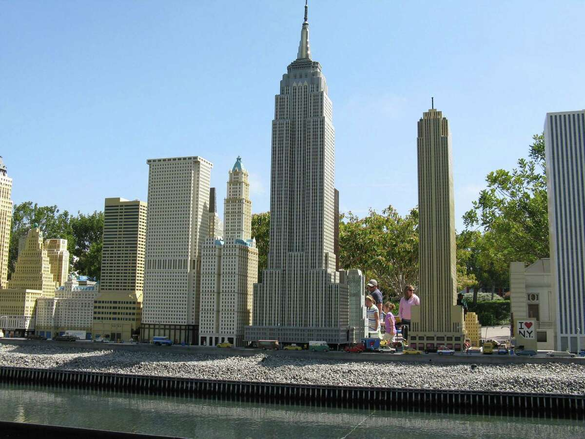 """A """"Miniland"""" Lego model of New York City skyscrapers at Legoland California in Carlsbad, Calif. Legoland New York will include a Miniland among more than 50 rides, activities and attractions when it opens in the spring of 2020 in Goshen, N.Y., an hour north of New York City."""