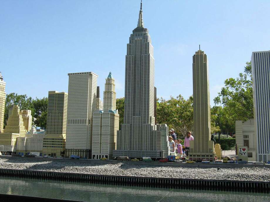 "A ""Miniland"" Lego model of New York City skyscrapers at Legoland California in Carlsbad, Calif. Legoland New York will include a Miniland among more than 50 rides, activities and attractions when it opens in the spring of 2020 in Goshen, N.Y., an hour north of New York City. Photo: (Diana Andro /Fort Worth Star-Telegram /MCT) / Fort Worth Star-Telegram"