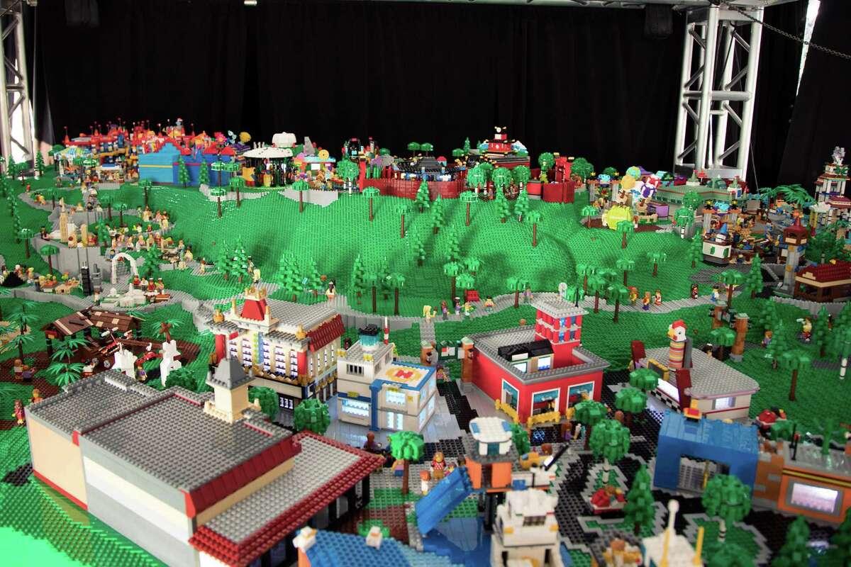 A model at LegoLand New York, opening in 2020 in Goshen, N.Y. in Orange County. (PRNewswire/LEGOLAND New York Resort)