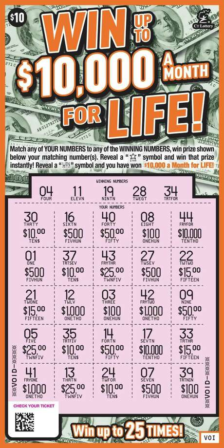 Norwalk man wins $10,000 a month for life - Connecticut Post