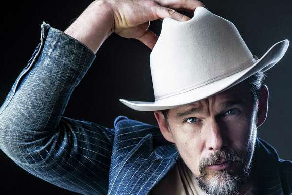 """""""Blaze"""" director Ethan Hawke stopped in for a concert and fireside chat at Rockefeller's, promoting his new film about late songwriter Blaze Foley ."""