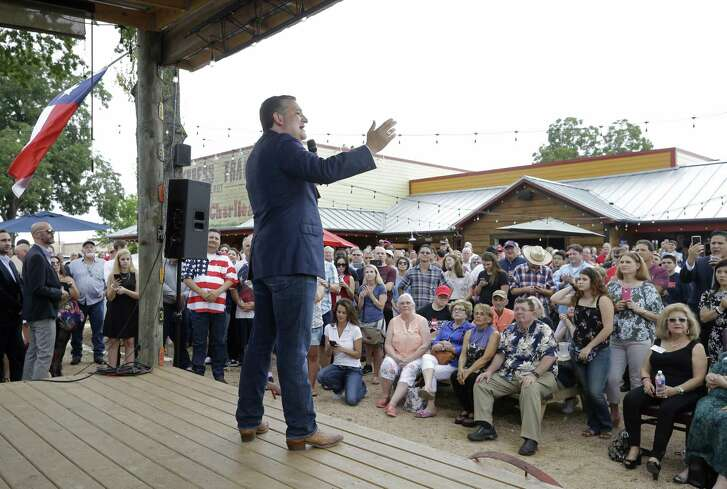 U.S. Senator Ted Cruz speaks during acampaignrally at Cypress Trail Hideout. 25610 Hempstead Rd., Saturday, Aug. 11, 2018, in Cypress.