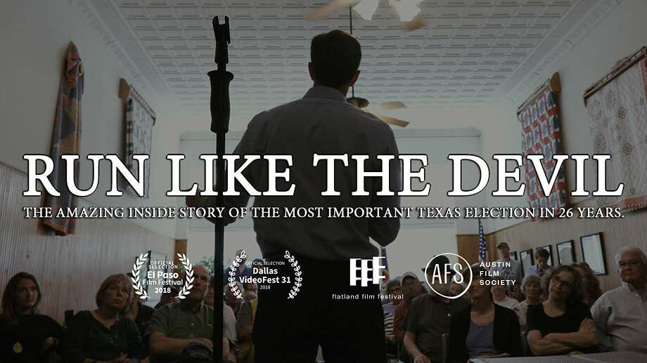 The poster for the documentary about the Ted Cruz-Beto O'Rourke race, 'Run Like the Devil' Photo: Long Shot Films