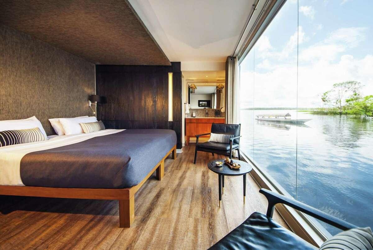 The Aria Amazon has 16 suites.