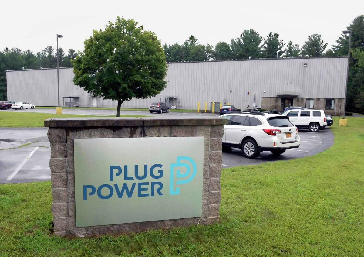 Plug Power's new warehouse and fuel cells assembly facility Friday August 16, 2018 in Clifton Park, NY. (John Carl D'Annibale/Times Union)