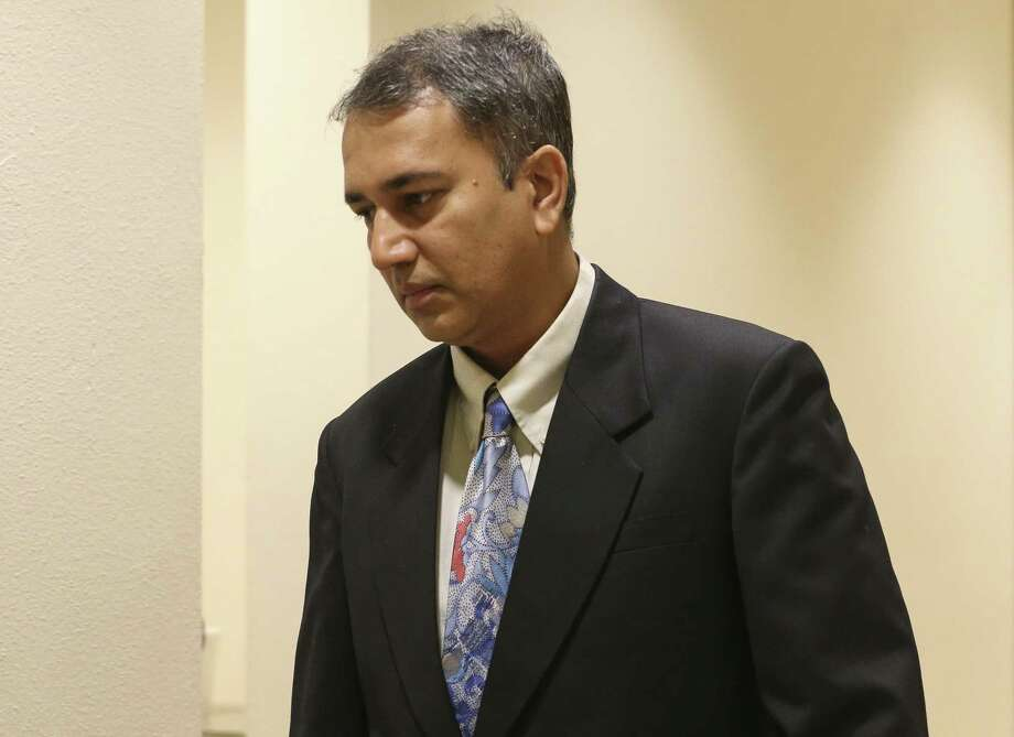 Dr. Shafeeq Sheikh, who was convicted of raping an an acute asthma patient during a night shift when he was a resident at Baylor College of Medicine in 2013, received 10 years probation Friday, Aug. 17, 2018. Photo: Yi-Chin Lee, Staff Photographer / Staff Photographer / © 2018 Houston Chronicle