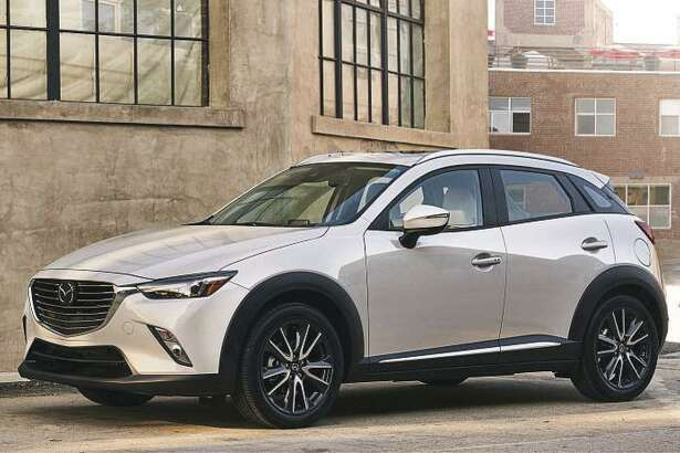 For 2019, the CX-3 starts at $20,390 (plus $975 freight) for the base front-wheel-drive Sport model. All-wheel drive can be added to this or any model for an additional $1,400, bringing the Sport price to $21,790 with AWD. (Mazda photo)