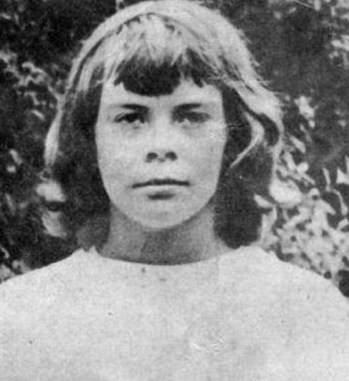 The disappearance of Connie Smith in 1956 remains unsolved to this day. Above, a detail of a photo was shown of 10-year-old Connie Smith, who disappeared July 16, 1952, and was not seen since. Smith had been a summer camper at Camp Sloane at 124 Indian Mountain Road in Lakeville. A former Wyoming Governor's granddaughter, Smith was last seen at the intersection of Route 44 and Belgo Road after she decided to walk to Lakeville from the camp.