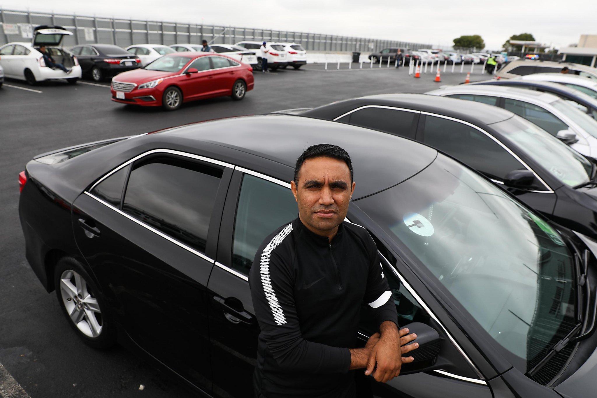 No Fair Say Uber Drivers Slapped With Sfo Tickets Sfchroniclecom