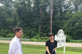 """Madison County Chairman Kurt Prenzler and Animal Care and Control Manager Katherine Conder announced how the county is making strides towards its goal for """"no kill"""" status. The county's save rate through the end of July reached more than 91 percent for dogs and 83 percent for cats."""