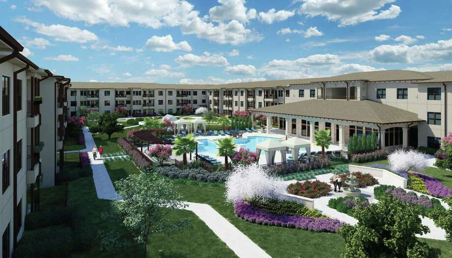 Ivy Point Kingwood, a 150-unit rental community for ages 55 and up, will open at 2302 Ladbrook Drive in Kingwood in early 2019. Photo: PinPoint Commercial / PinPoint Commercial