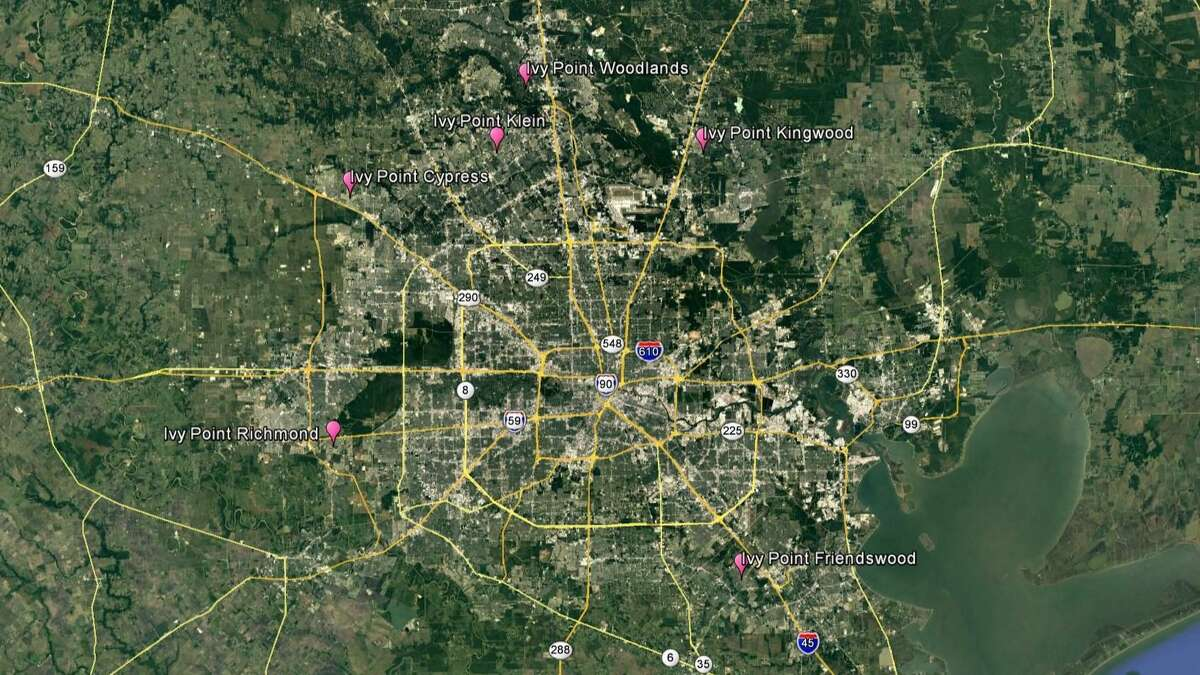 PinPoint Commercial is developing six active adult apartment communities in the Houston area: Kingwood, Klein, Cypress, Richmond, Friendswood and The Woodlands. Theproperties will encompass more than 850 units.