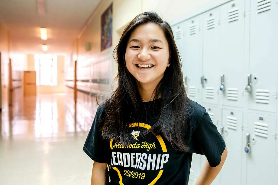 Kristen Wong, 14, is a freshman at Alameda High School. Kristen described being shamed by an adult in sixth grade for her clothing, and says she still isn't sure what she was wearing that was wrong. Photo: Brittany Hosea-Small / Special To The Chronicle