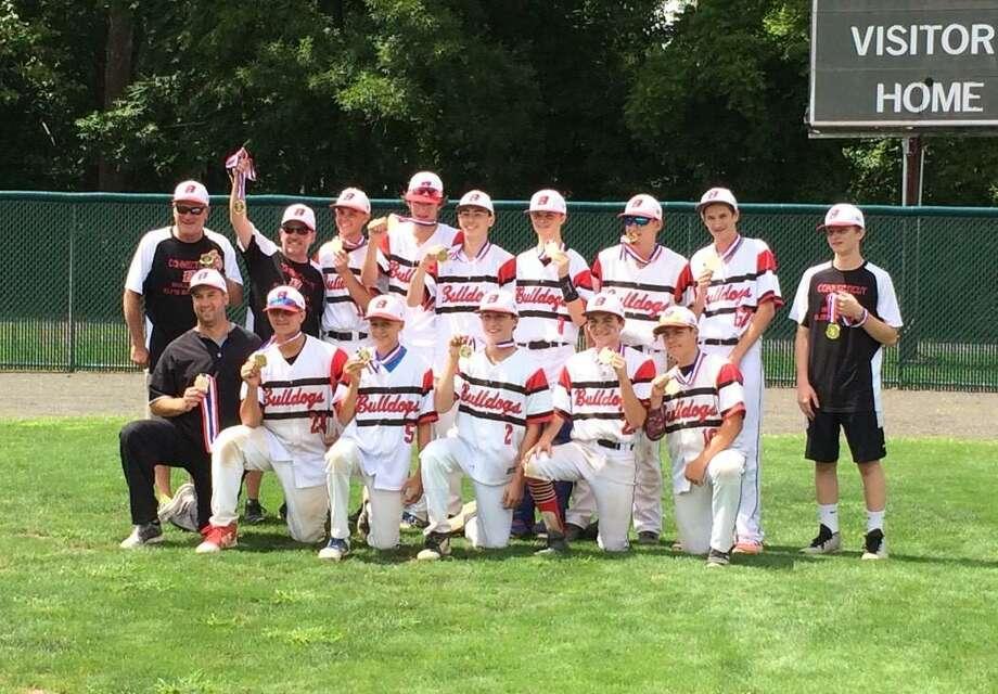 CT Bulldogs 15U Baseball team wins gold medal at Nutmeg Games - The