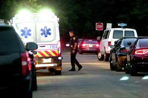 A 2-year-old that was pulled from a backyard pool on Thursday died at a local hospital police officials said. The child was taken out of the water from a residence on Charron Street in Bridgeport, Conn., around 7:25 p.m.