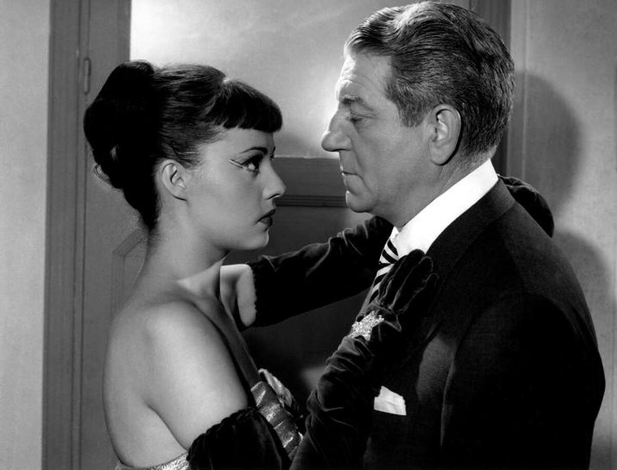 """Jeanne Moreau and Jean Gabin in """"Touchez Pas au Grisbi,"""" to be shown at Pacific Film Archive."""