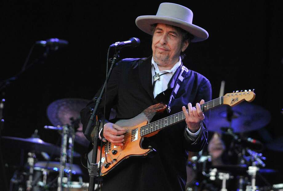 Bob Dylan, above in 2012, is returning to the Waterbury Palace on Nov. 20, the first time he's played the venue since his Rolling Thunder Revue show there on Nov. 11, 1975. Tickets go on sale Friday, Aug. 24, at 10 a.m. Photo: Fred Tanneau / AFP / Getty Images / AFP/Getty Images / 2012 AFP
