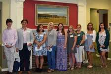 Pictured are Alejandro Sarmiento of The Hotchkiss School, Lakeville; Brittany Strauss of New Paltz High School, New Paltz, NY; Claire Norman of Stissing Mountain High School, Pine Plains, NY; Ella Hampson of Cheshire Academy, Cheshire, CT; Finnbarr Chebatoris of Mount Everett High School, Sheffield, MA; Jada Wilson of Housatonic Valley Regional High School, Falls Village, CT; Lexus Pattershall of Franklin D. Roosevelt High School, Hyde Park, NY; Morgan Gott of Mount Everett High School, Sheffield, MA; Rebekah Turner of Newburgh Free Academy, Newburgh, NY.