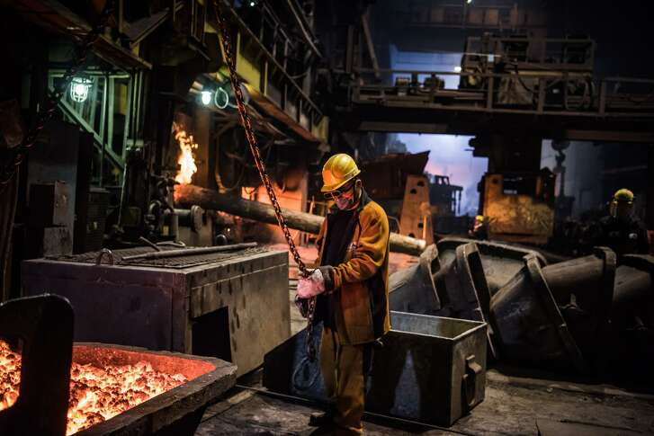A copper refinery in Norilsk, Russia, Nov. 8, 2017. Among the worlds investment nerds, copper is known as Dr. Copper for its ability for its ability to predict the direction of the global economy about as as well as your average Ph.D economist. And in 2018, it is raising a red flag.