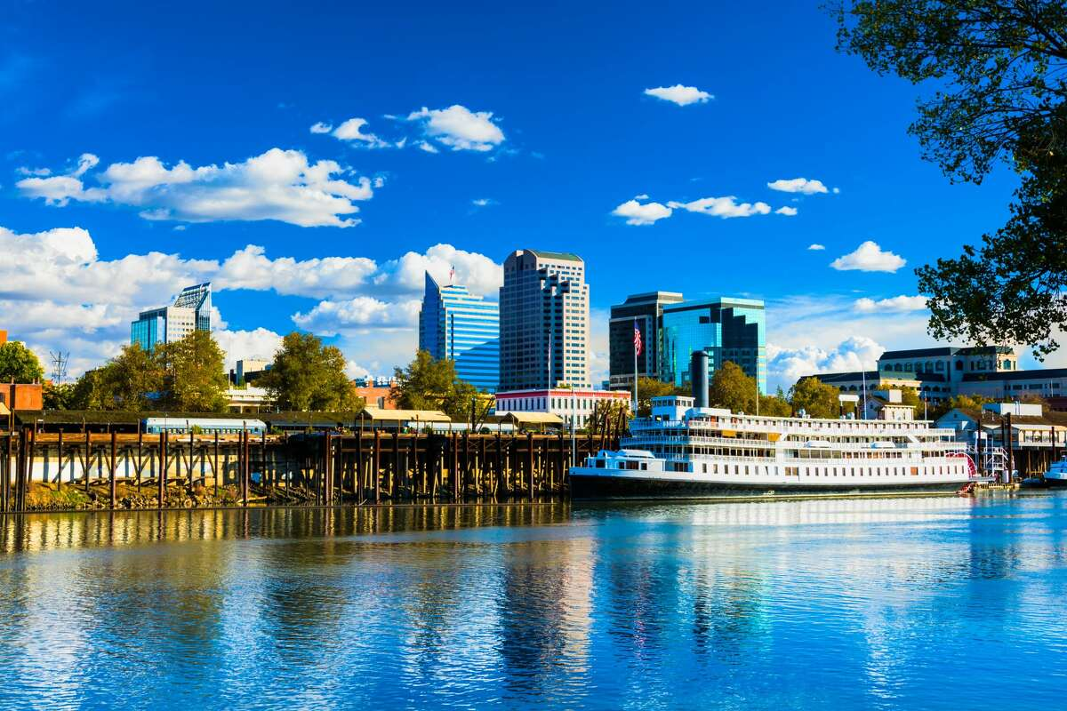Sacramento, California Kick off your 2020 by following the Gold Rush to the capital of California. Frontier Airlines offers a $44 flight from San Antonio to Sacramento on Sat., Jan. 11.