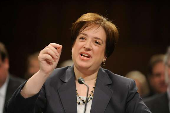 FILE -- Elena Kagan, President Barack Obama's Supreme Court nominee, during her confirmation hearing before the Senate Judiciary Committee on Capitol Hill in Washington, June 29, 2010. Kagan faced questions about her lack of judicial experience at the hearing. (Mary F. Calvert/The New York Times)