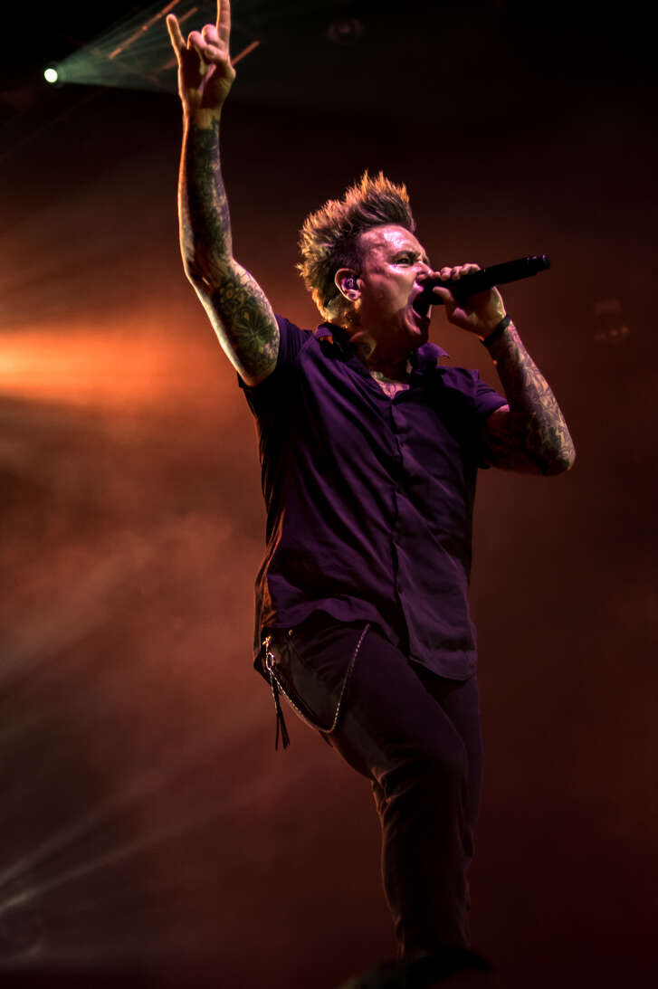 Papa Roach performs at Revention Center in May 2018.