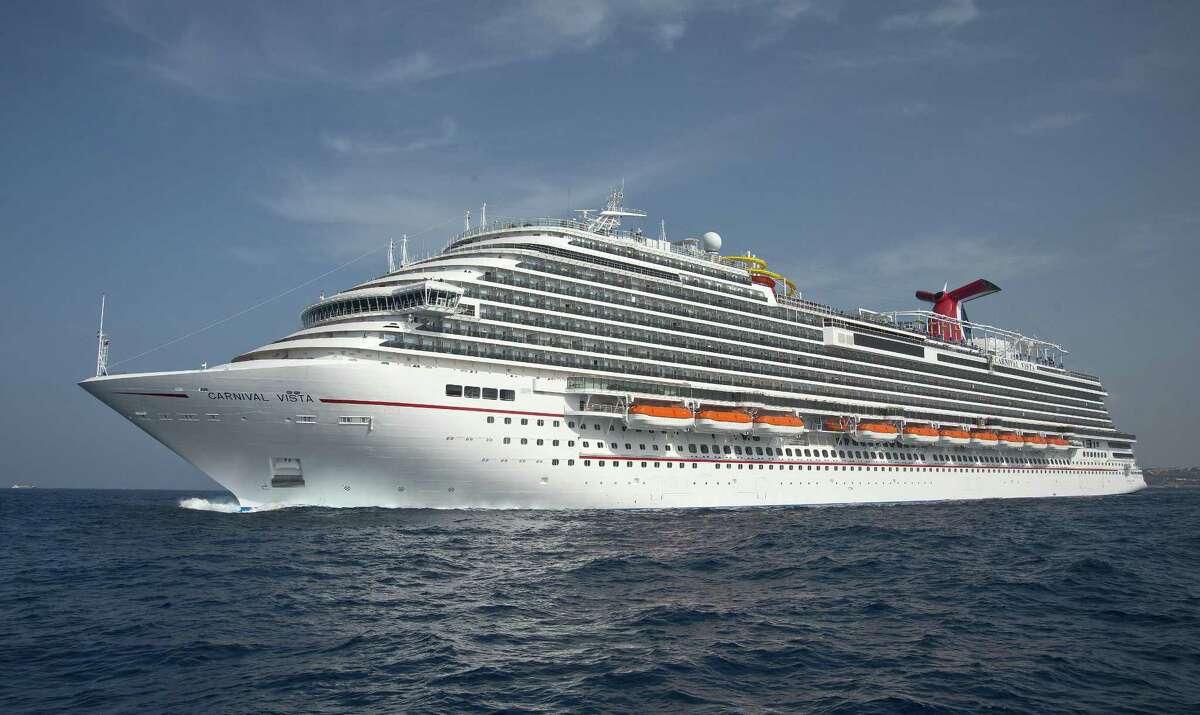 The Carnival Vista began sailing from Galveston on Sept. 23, 2018.