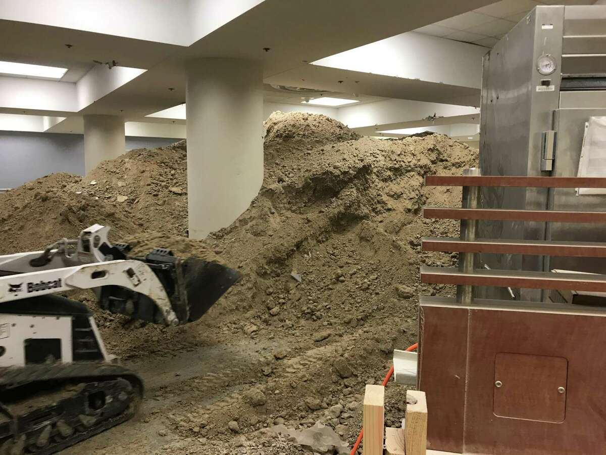 After a burst pipe in the basement of Ben Taub Hospital closed the longtime location of a McDonald?'s, a massive unrelated plumbing project was launched which further wrecked the site. On Friday McDonald?'s said the location would not reopen in the previous location nor any other in the immediate vicinity.