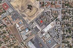 Google maps shows the area of the 1400 block of Gardina Street in San Antonio.