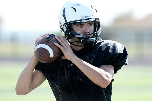 Forsan's Kobe Richardson during practice Aug. 15, 2018. James Durbin/Reporter-Telegram
