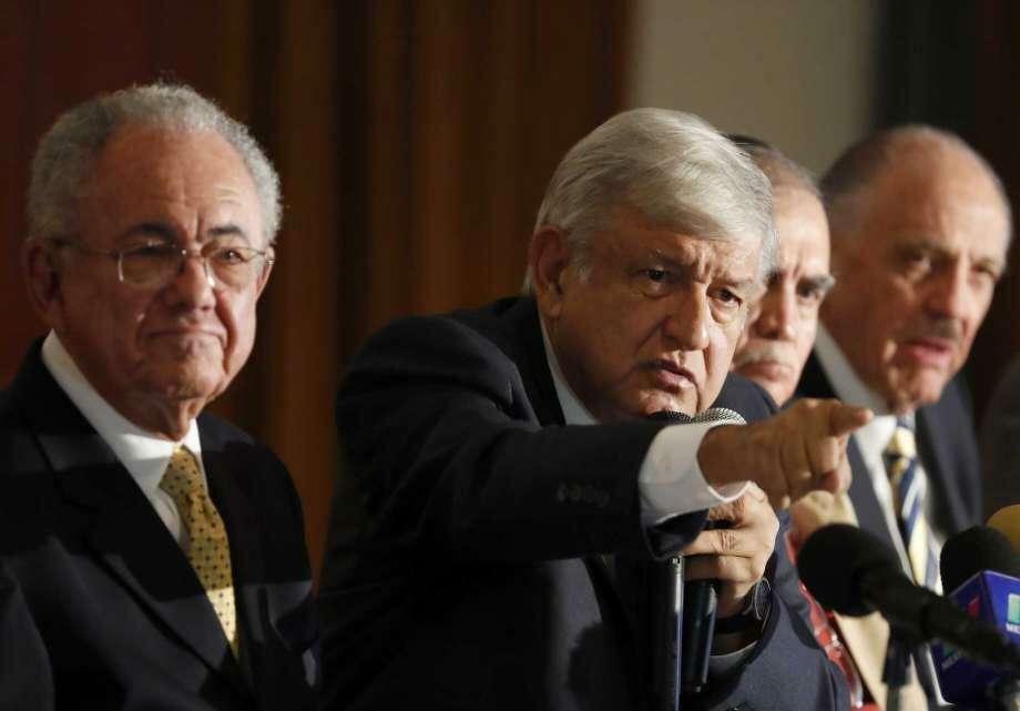 Andrés Manuel López Obrador. Photo: Eduardo Verdugo /AP